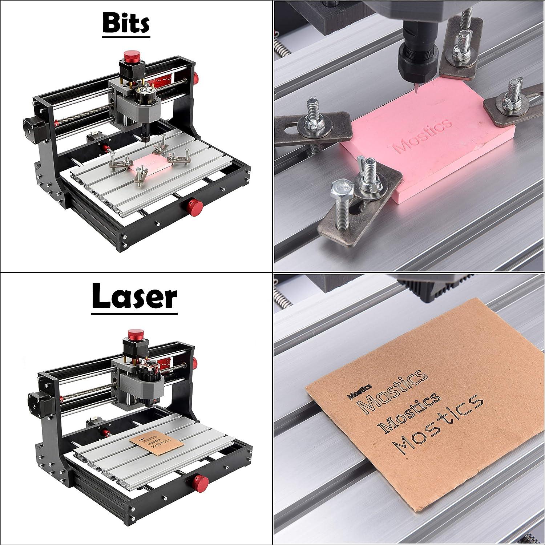 CNC 3018 PRO, ohne laser Mostics CNC 3018 Pro ohne laser modul CNC stecher CNC gravur maschine CNC carving maschine CNC router Fr/äsen maschine CNC Laser gravur maschine Laser graveur