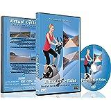 Virtuelle Fahrradtouren DVD - Küstenlandschaften Algarve, Portugal - für Indoor Radfahren, Laufband und Jogging Workouts