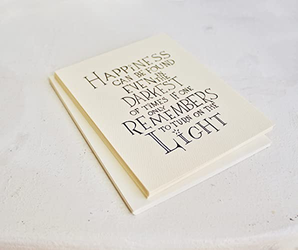 set of six harry potter card happiness handmade holiday cards with a2