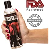 Personal Lubricant Water Based Lube - For Men & Women - Great For Sensitive Skin, Comfortably Moisturizes & Lubricates - Smooth as Silk & Stimulating Sex Lubes - FDA Registered - 8 oz By Intimate Rose