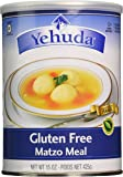 Yehuda Gluten Free Matzo Meal, 15 Ounce (Pack of 2)