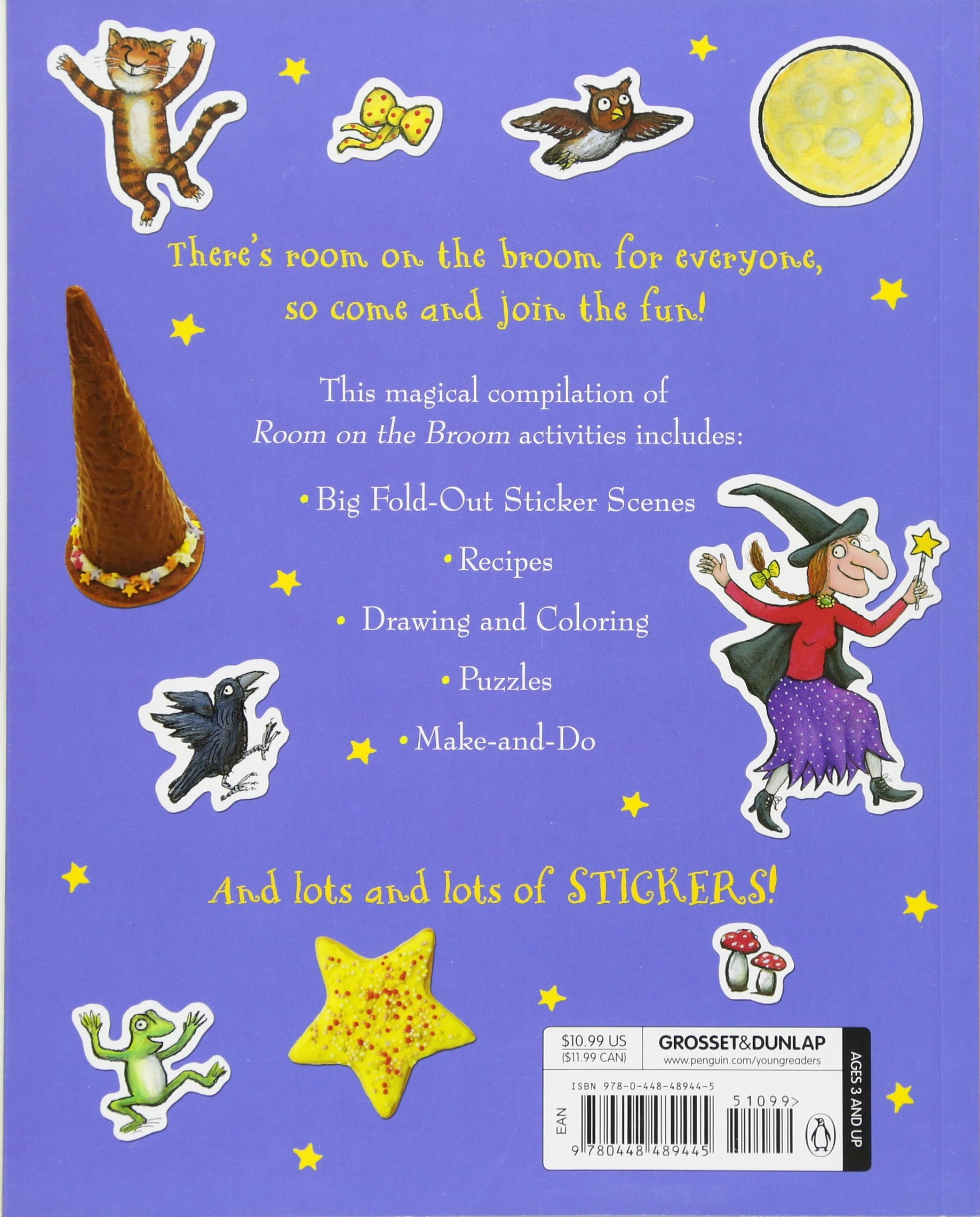 Room on the Broom Big Activity Book: Julia Donaldson, Axel ...