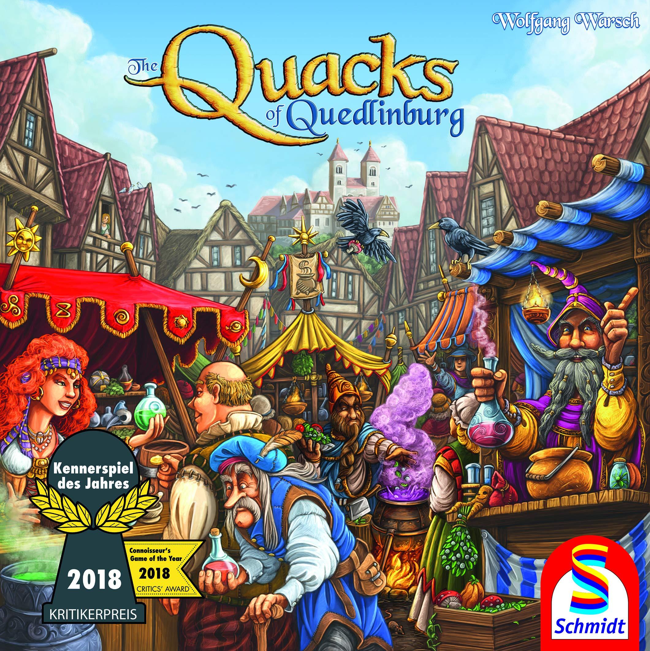 Schmidt Spiele Quacks of Quedlinburg Game Family, Multicolour