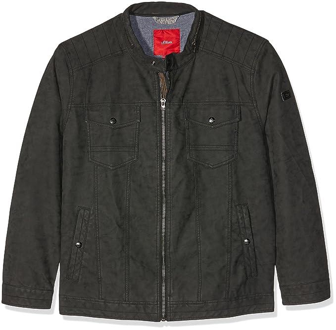 S Size 28702513717 Negro black oliver Big Hombre Para Chaqueta rUCErqwxt