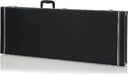 Gator GW-JAG - Estuche para guitarra eléctrica de madera, Tipo Fender Jazzmaster / Jaguar, Negro: Amazon.es: Instrumentos musicales