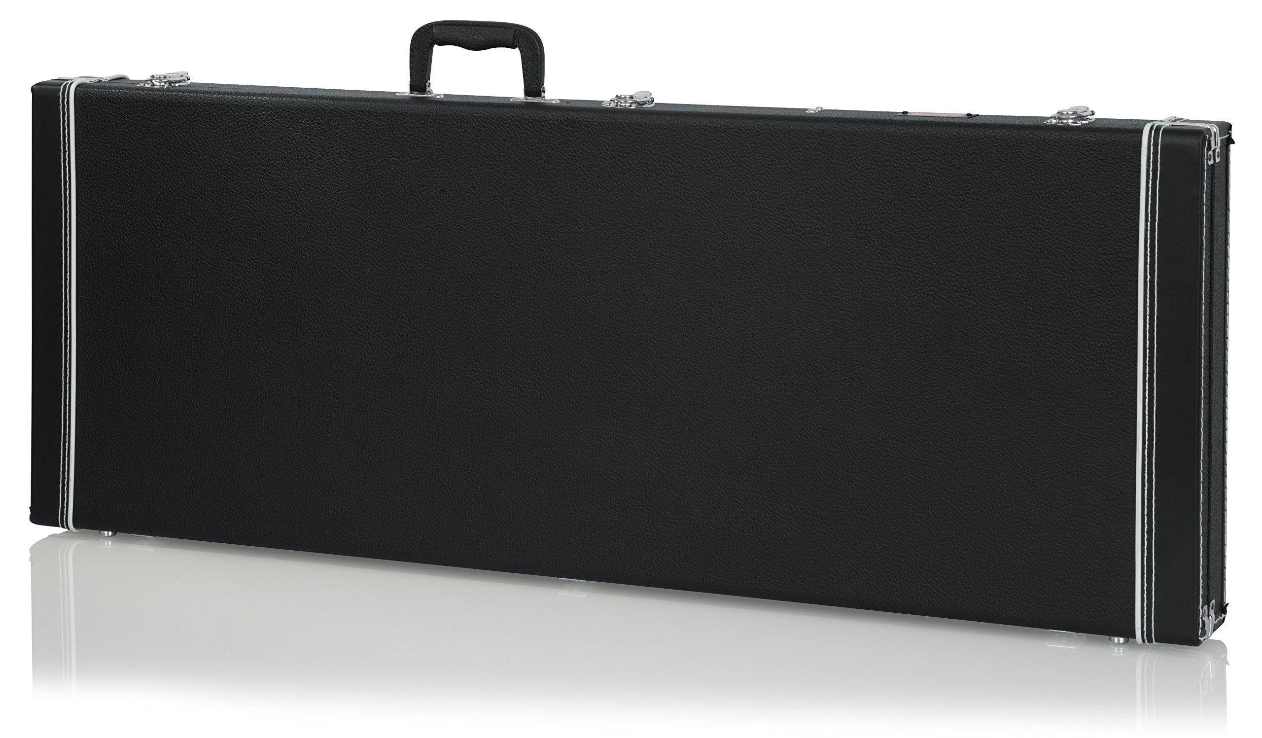 Gator Cases Deluxe Wood Case for Jaguar/Jazzmaster Style Electric Guitars (GW-JAG)