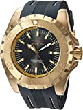 Invicta Men's 'Pro Diver' Quartz Stainless Steel and Polyurethane Casual Watch, Color:Grey (Model: 23732)