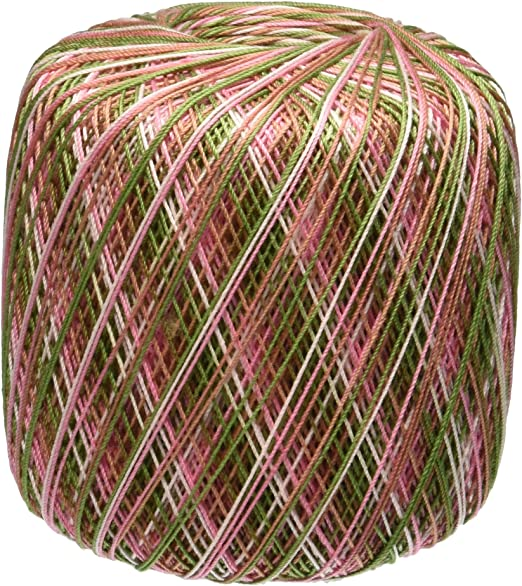 Aunt Lydia/'s Classic Crochet Thread Size 10-Pink Cameo
