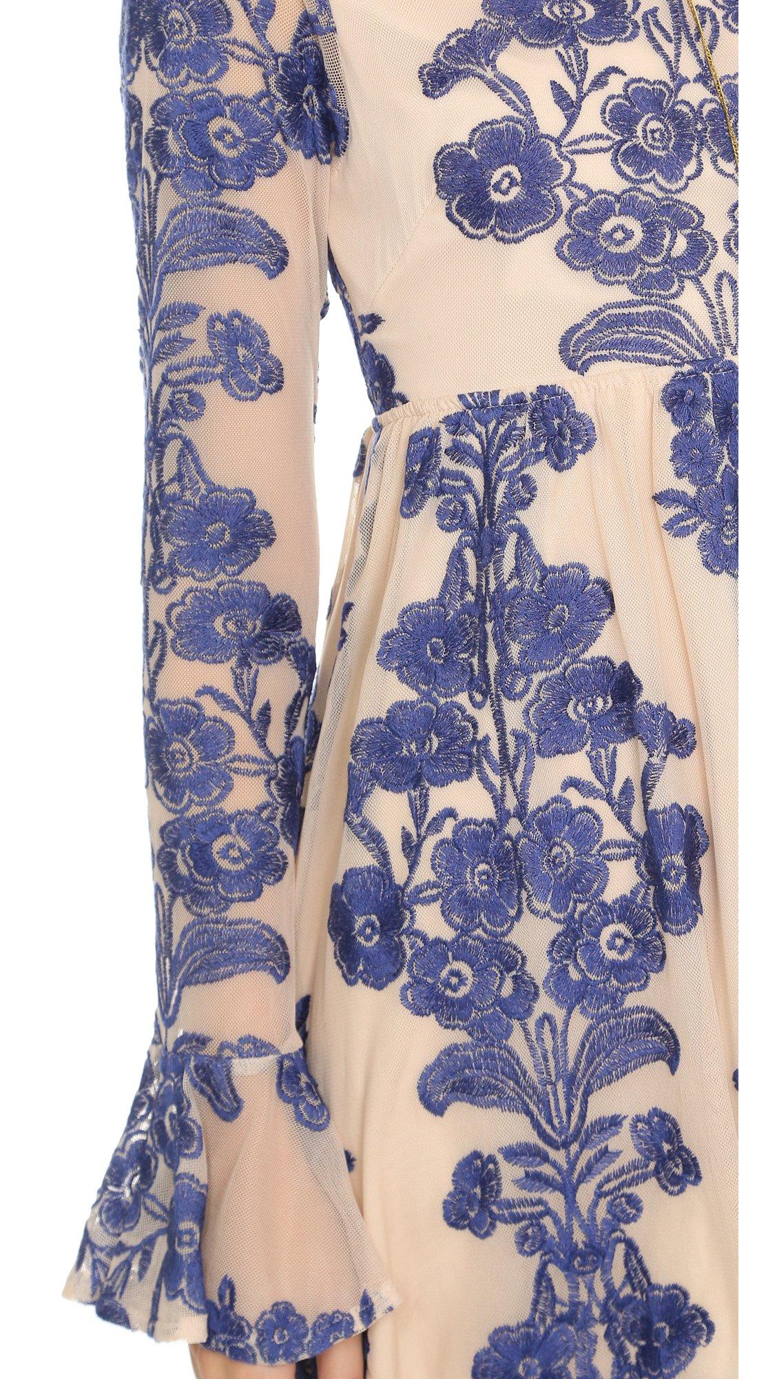For Love & Lemons Women's Temecula Mini Dress, Navy, Small by For Love & Lemons (Image #5)