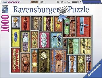 Ravensburger- Antiche Maniglie Puzzle 1000 Piezas, Multicolor ...