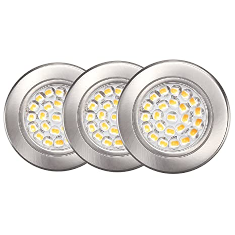 sports shoes 0edb1 0d9d7 Amazon.com: GetInLight Dimmable LED Puck Lights Kit with ETL ...