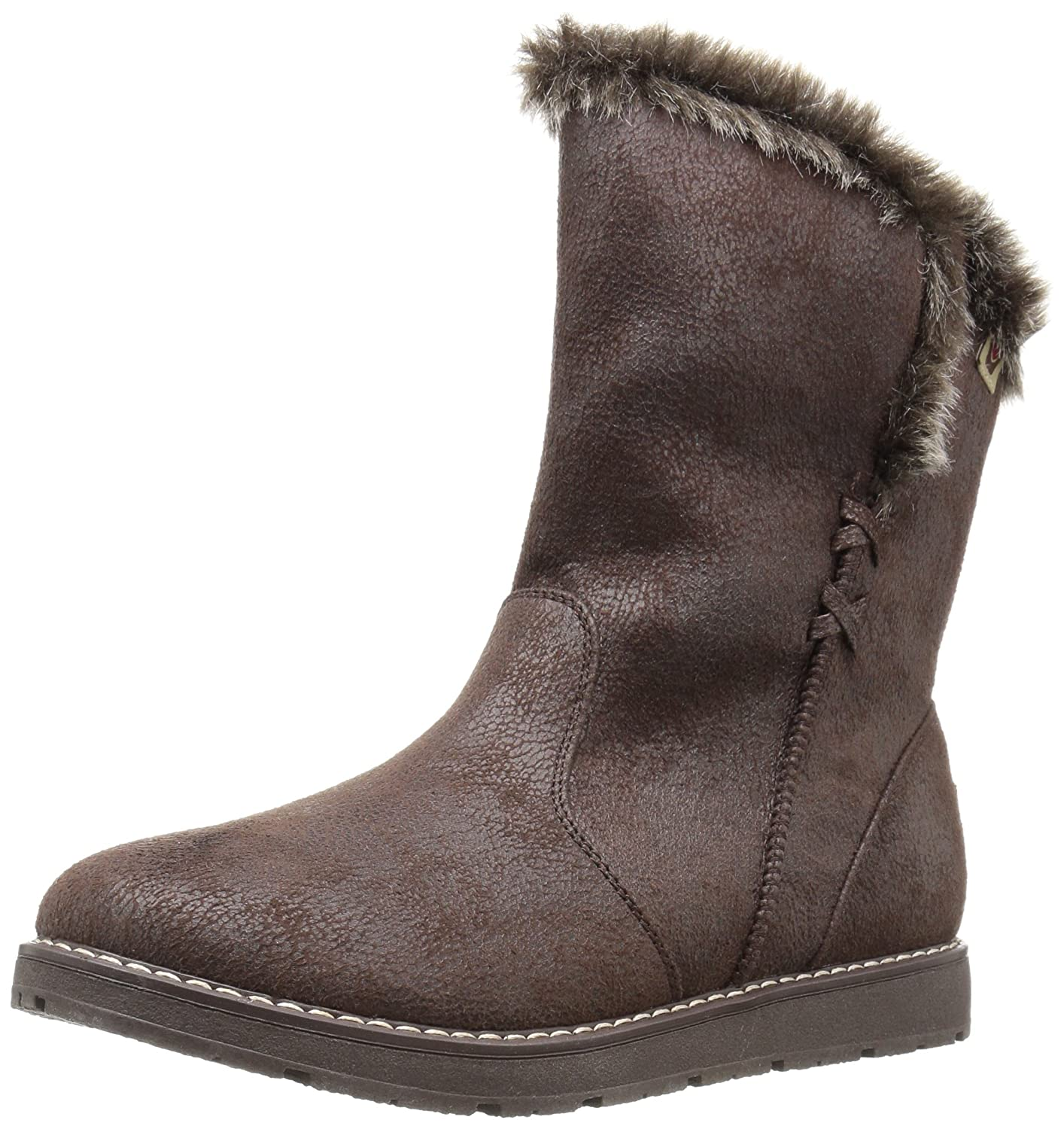Skechers BOBS from Women's Bobs Alpine Puddle Jump Cozy Winter Boot B01ABY34HK 9 B(M) US|Chocolate