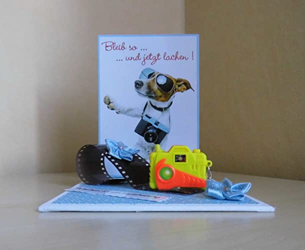 Geschenk Fotoshooting Lustig Geldgeschenk Amazon De Handmade