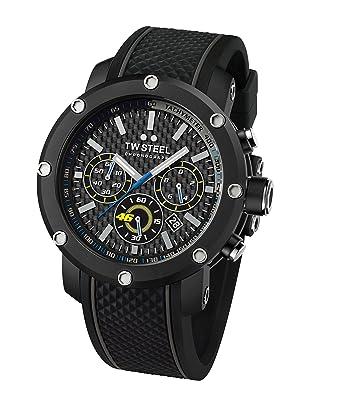 66f164bcdc2 TW Steel Men s Chronograph Quartz Watch with Silicone Strap TW937 ...