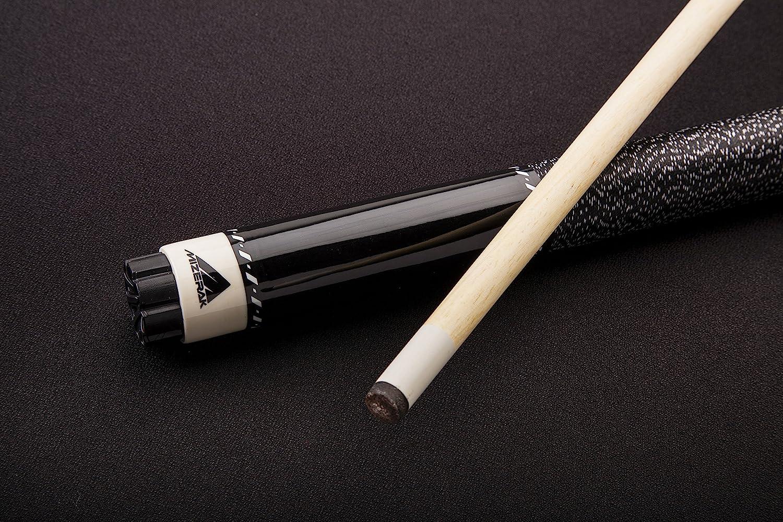 mizerak Hardwood Cue 57 Black by mizerak 2piece