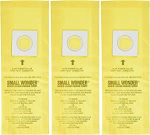 HP Products (4908) Small Wonder Vacuum Bag, (Pack of 3)