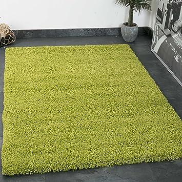 Vimoda Prime Shaggy Teppich Grun Hochflor Langflor Teppiche Modern