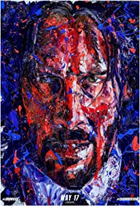 John Wick: Chapter 3 - Parabellum Movie Poster 24 x 36 Inches USA Shipped Print - Ready for Display (2019) (Poster Version C)