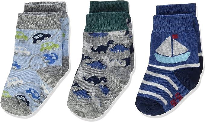 Pack of 3 Melton Boys Socks,