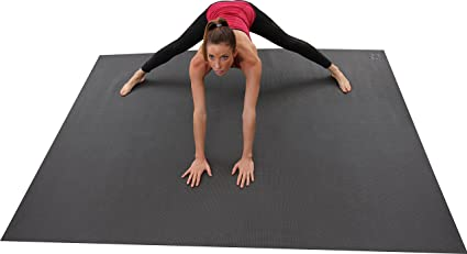 Square36 Large Yoga Mat 8x 6 (96