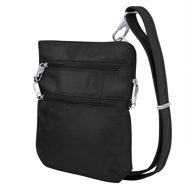 Amazon.com  Travelon Anti-Theft Classic Slim Dbl Zip Crossbody Bag ...