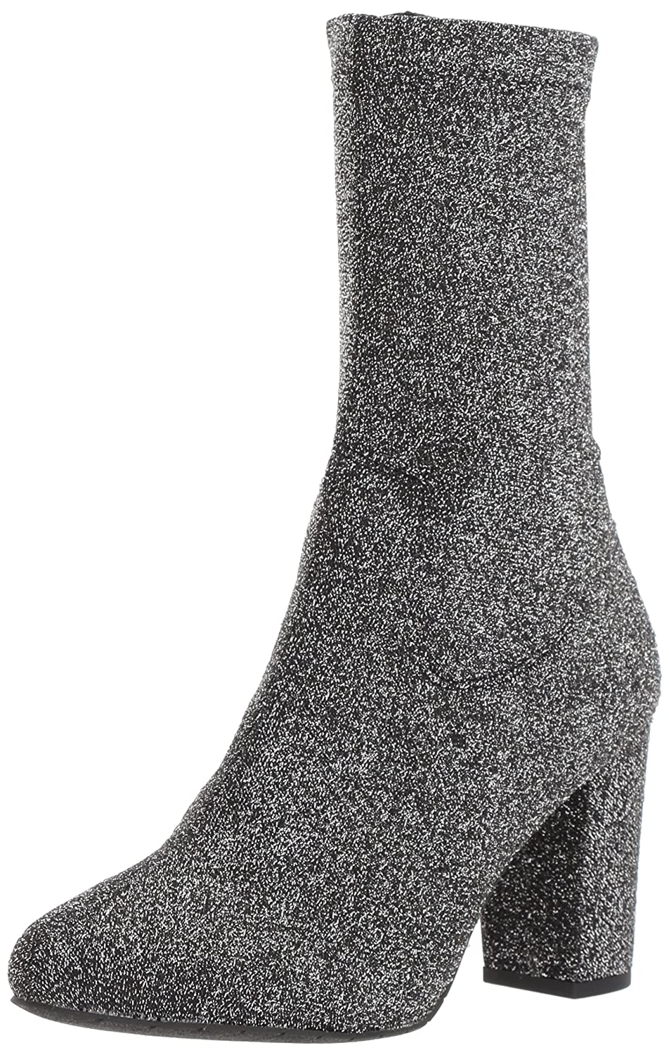 Kenneth Cole New York Women's Alyssa Stretch Shaft Heel Ankle Boot B073XL41YZ 8.5 B(M) US|Pewter
