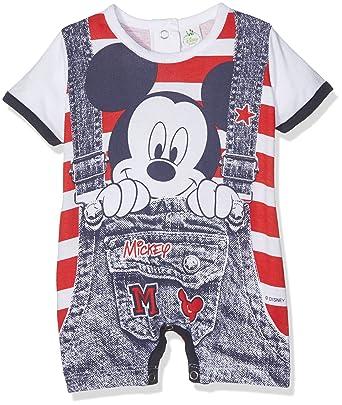 Disney Walt 43162AZ, Pelele para Bebés, Rojo (Rosso), (Talla del