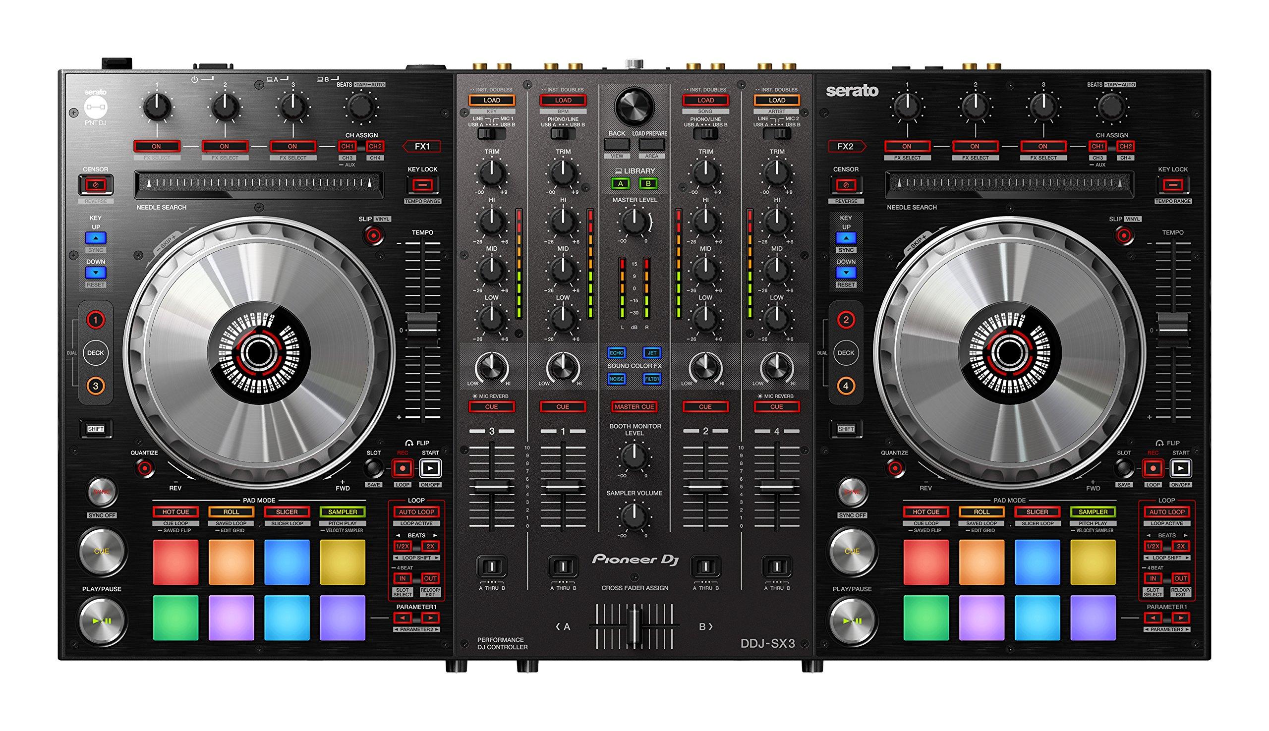 PIONEER 4 CH DJ CONTROLLER SERATO DJ PRO