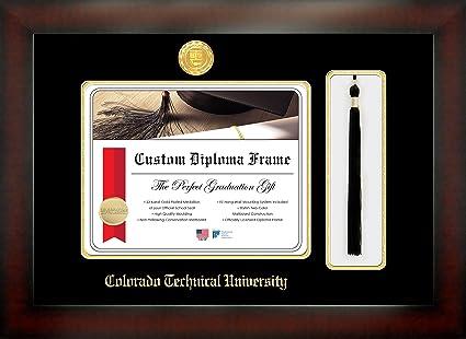 Amazon.com: Celebration Frames Colorado Technical University 8½ x 11 ...