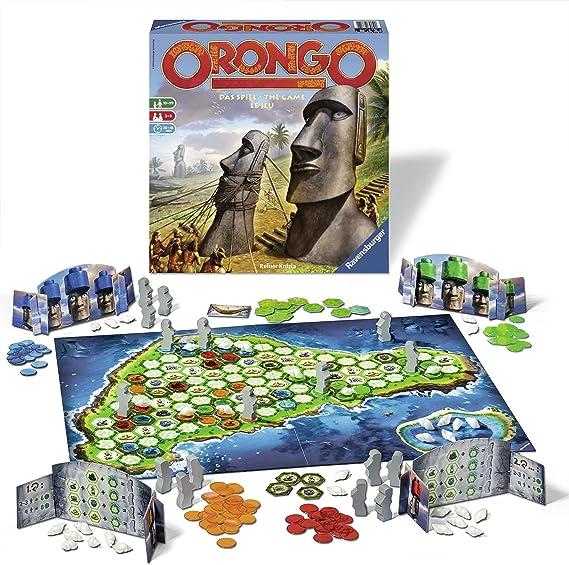 Ravensburger Orongo Viajes/Aventuras - Juego de Tablero (Viajes/Aventuras, 45 min, Niño/niña, 10 año(s), 99 año(s)): Amazon.es: Juguetes y juegos