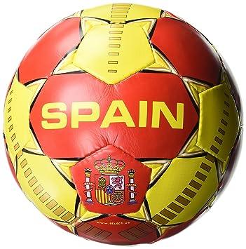 SELECT Seleccione España balón de fútbol, Rojo/Amarillo: Amazon.es ...