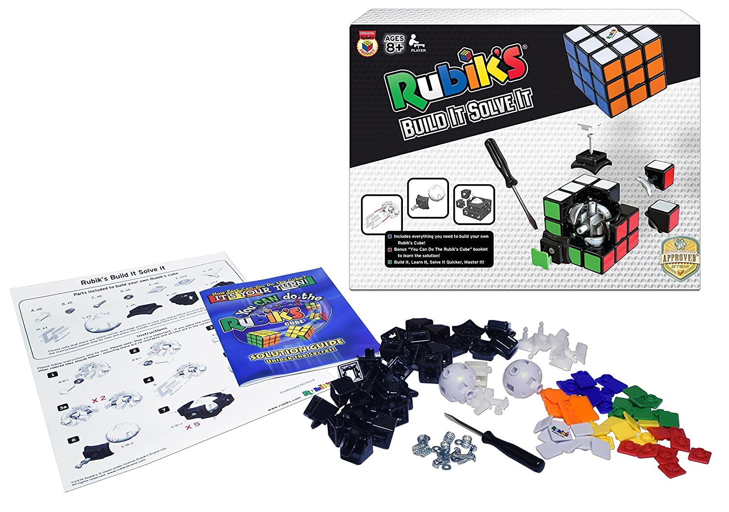 Rubik's Build It Solve It Winning Moves 5034 Accessory Consumer Accessories