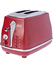 DeLonghi Icona Elements, 2 Slice Toaster, CTOE2003R, Flamed Red
