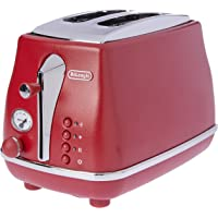De'Longhi Toasters 2 Slice Toaster, Red, CTOE2003R