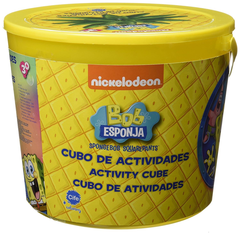 Bob Esponja Cubo actividades (Cife 86665): Amazon.es: Juguetes y juegos