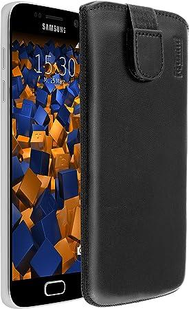 Mumbi Echt Ledertasche Für Samsung Galaxy S7 Tasche Elektronik