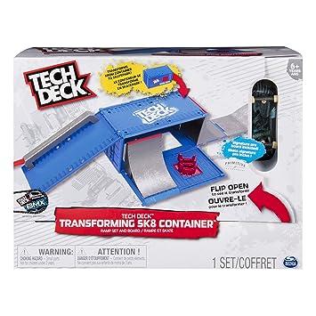 Minimonopatines Dedosskate Accesorios Tech Transforming Deck Para Minibicicletas Set Skate Piezas SetAzul Park Y Container DEHYW9I2