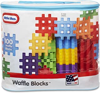 product image for Little Tikes Waffle Blocks Bag (100 Piece)