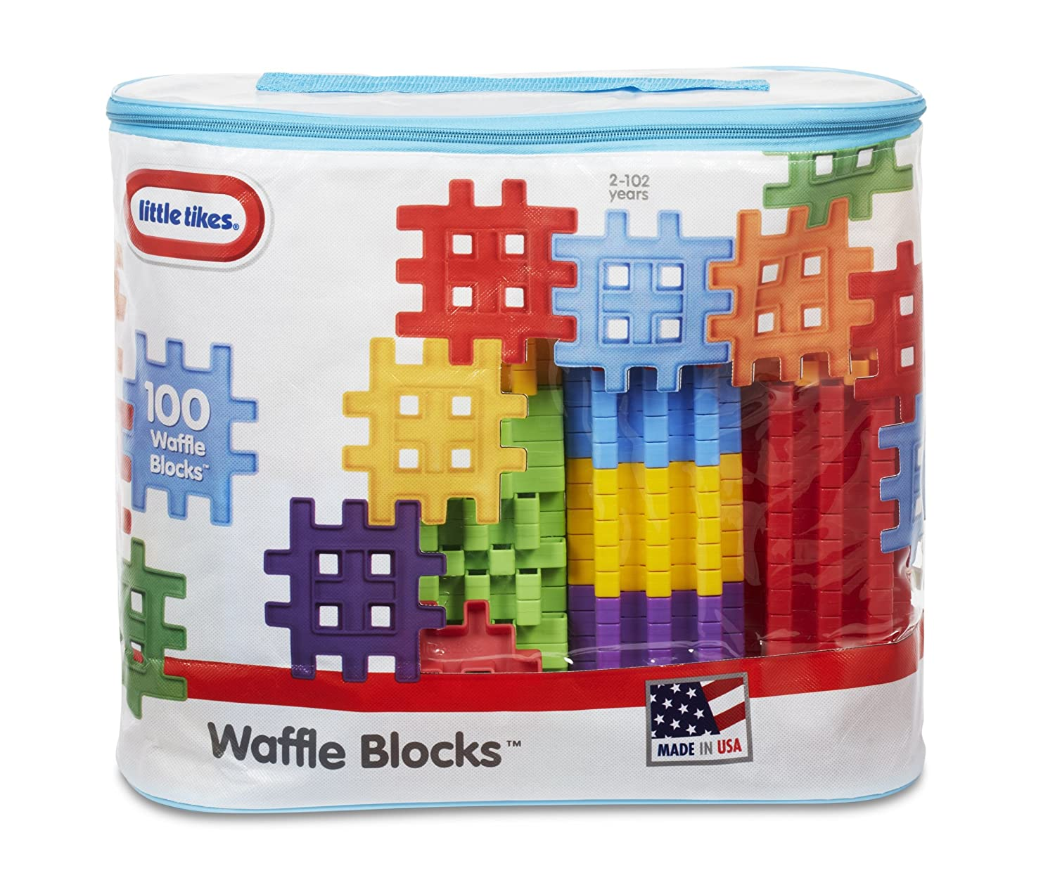 Little Tikes Waffle Blocks Bag (100 Piece) MGA Entertainment 645297