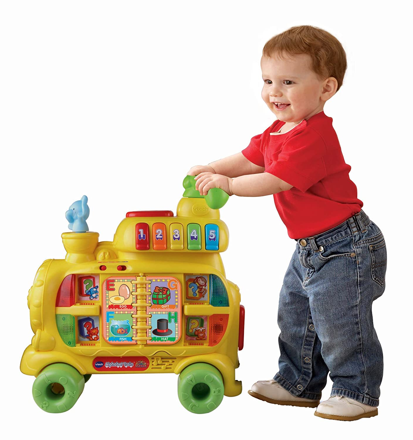 Amazon VTech Sit to Stand Alphabet Train Toys & Games