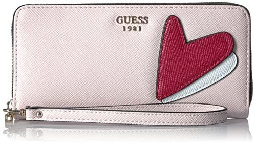 GUESS Pin Up Pop Large Zip Around – Cameo Wallet