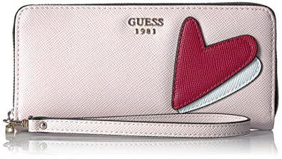 Guess - Pin Up Pop, Carteras Mujer, Multicolore (Cameo), 3x10x17 cm