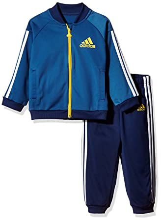 adidas Children s I Sp Shiny Trsu Tracksuit  Amazon.co.uk  Sports ... 634fd2198c