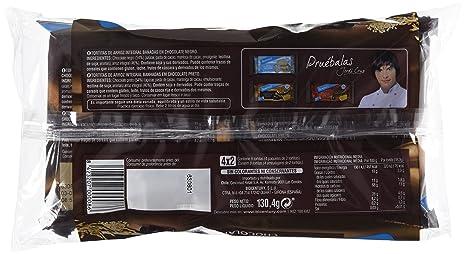 Bicentury - Tortitas Nackis - Arroz Integral Con Chocolate Negro - 4 x 32.6 g: Amazon.es: Alimentación y bebidas