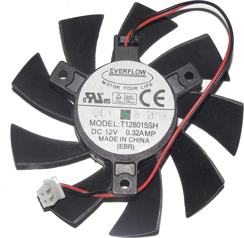 T128015SH 12V 0.32A 2Wire Video Fan