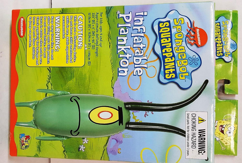 Amazon.com: Kidz Kraze hinchable, diseño de Bob Esponja ...