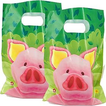 Süsses Schwein: 10 Bolsas de Fiesta * cerditos * para ...