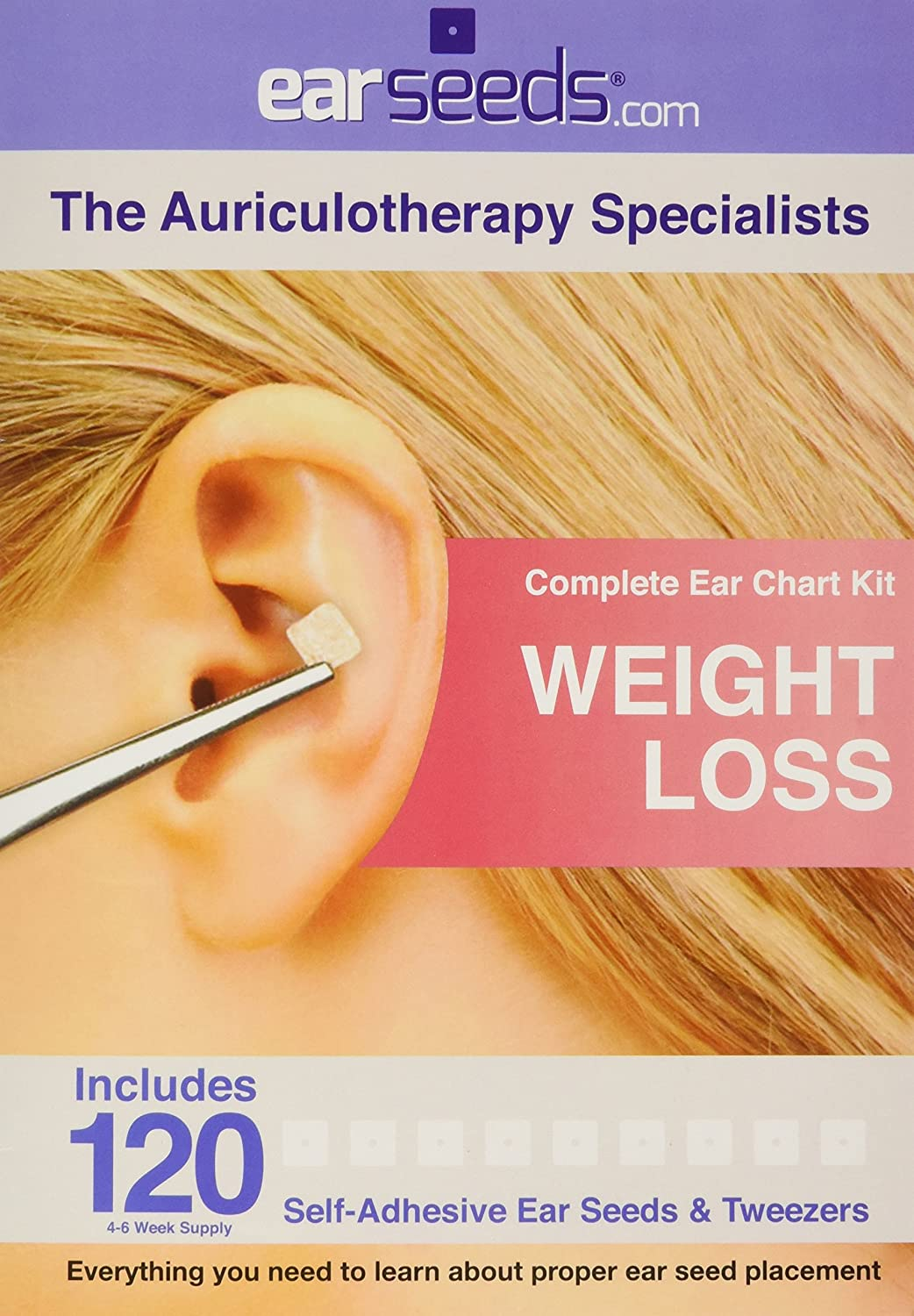Amazon weight loss ear seed kit 120 vaccaria ear seeds amazon weight loss ear seed kit 120 vaccaria ear seeds stainless steel tweezer health personal care nvjuhfo Images