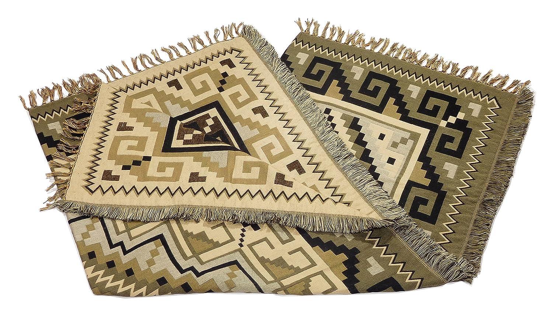 EPDTRO2C Measures 50 x 64 Ultra Soft 2C Aztec Grey El Paso Designs Throw Blankets in Southwest /& Native American Styles