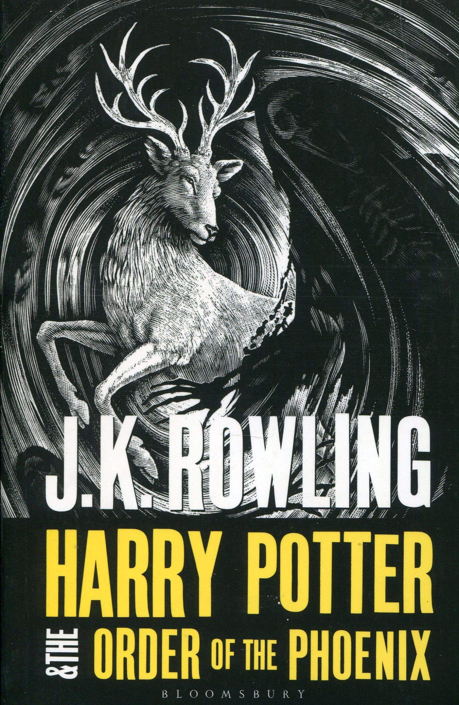 Harry Potter And The Order Of The Phoenix Adult Edition Harry ...